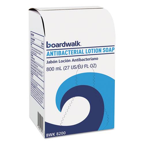 Boardwalk® Antibacterial Soap, Floral Balsam, 800mL Box