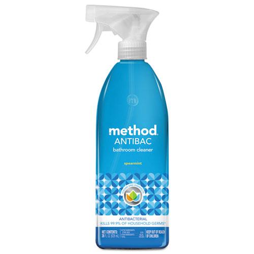 Method® Antibacterial Spray, Bathroom, Spearmint, 28oz Bottle