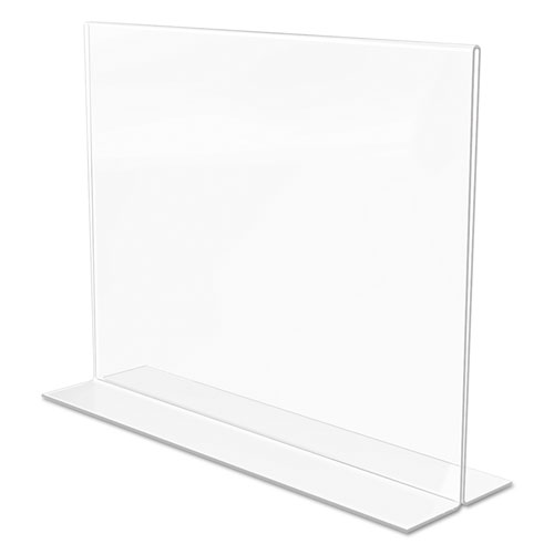 Classic Image Double Sided Sign Holder 11 X 8 1 2 Insert