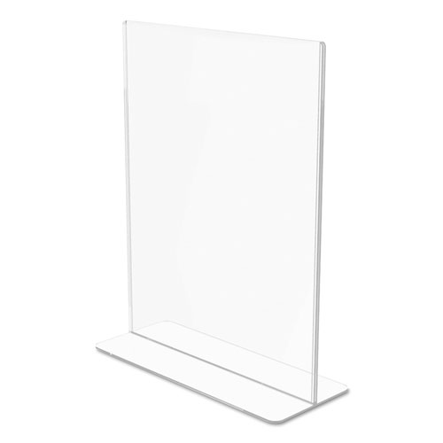 Superior Image Double Sided Sign Holder 8 1 2 X 11 Insert