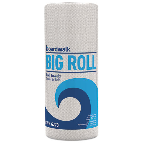 Boardwalk® Perforated Paper Towel Roll, 2-Ply, White, 11 x 8 1/2, 250/Roll, 12 Rolls/Carton