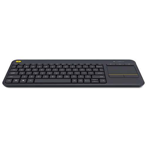 Wireless Touch Keyboard K400 Plus, Black