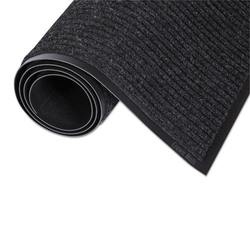 Needle-Rib Wiper/Scraper Mat, Polypropylene, 24 x 36, Charcoal NR0023CH