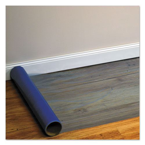 ES Robbins® Roll Guard Temporary Floor Protection Film for Carpet, 24 x 2,400, Clear