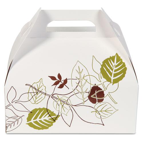 Dixie® Barn Carryout Carton, Pathways Theme, 5 lb Box, 250/Carton