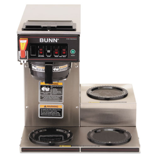 Buncwtf153lp Bunn Cwtf 3 Three Burner Automatic Coffee