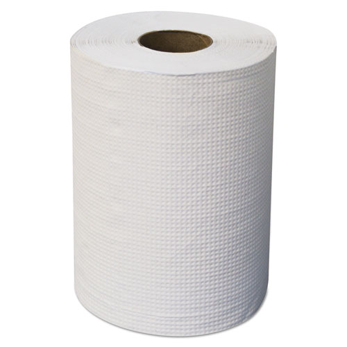"Morcon Paper Hardwound Roll Towels, 7 7/8"" x 300 ft, White, 12/Carton"