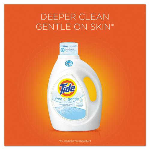 Pgc13885 Tide Free Amp Gentle Laundry Detergent Zuma