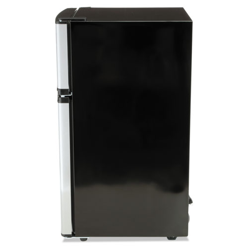 Counter-Height 3.1 Cu. Ft Two-Door Refrigerator/Freezer, Black ...