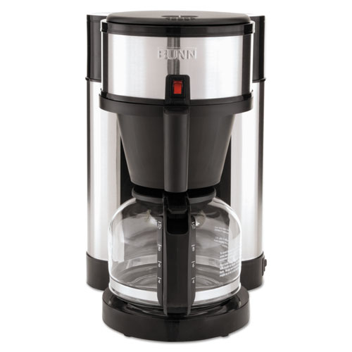 Bunn Coffee Maker Not Getting Power : BUNN 10-Cup Velocity Brew NHS Coffee Brewer, Black, Stainless Steel BUNNHS iBuyOfficeSupply