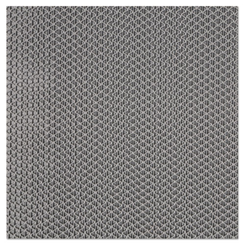 Nomad 6250 Z-Web Medium-Traffic Scraper Matting, 36 x 60, Gray 625035GY