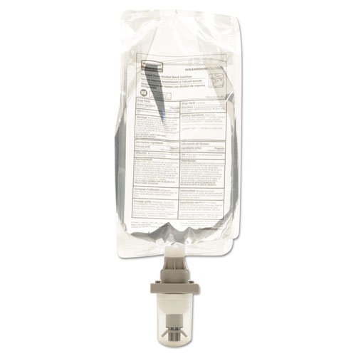 Rubbermaid® Commercial AutoFoam Hand Sanitizer Refill, With Alcohol, Clear, 1100mL, 4/Carton