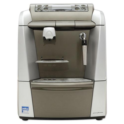 Lavazza BLUE 2312 Espresso/Cappuccino Machine, 1-Gal Tank, Silver/Gray,18.6x12.9x15.4