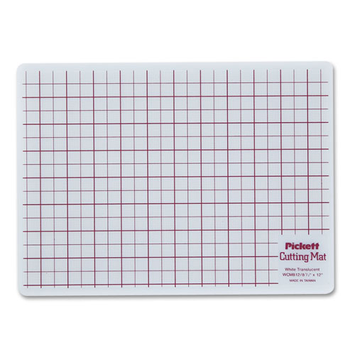 Self Healing Cutting Mat 8 1 2 X 12 White Translucent W