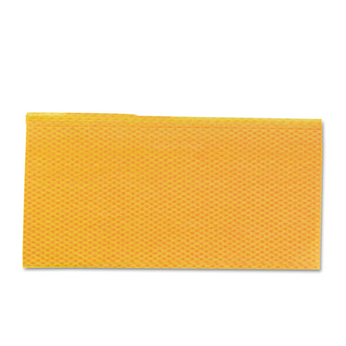 Stretch 'n Dust Cloths, 23 1/4 x 24, Orange/Yellow, 20/Bag, 5 Bags/Carton | by Plexsupply