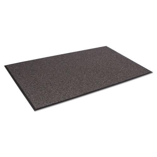 Cross-Over Indoor/Outdoor Wiper/Scraper Mat, Olefin/Poly, 24 x 36, Brown