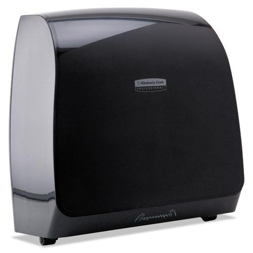 Slimroll MOD Touchless Manual Towel Dispenser, 13 x 7 1/5 x 12 3/5, Black