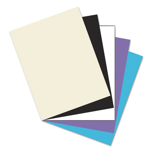 Array Card Stock, 65lb, 8.5 x 11, Assorted Classic Colors, 50/Pack