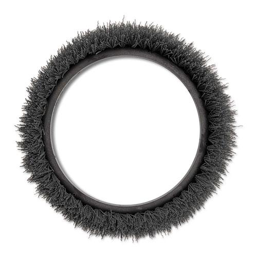 Orbiter Carpet Shampoo Brush, 12 dia, Black