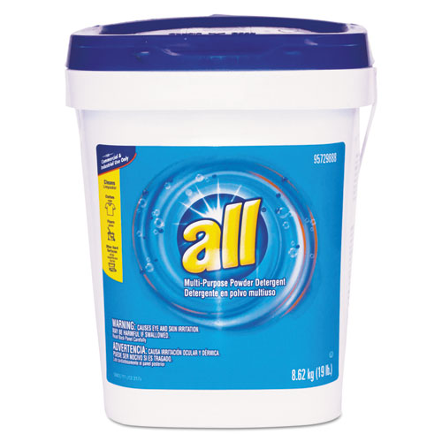 All® Alll-Purpose Powder Detergent, 19 lb Tub