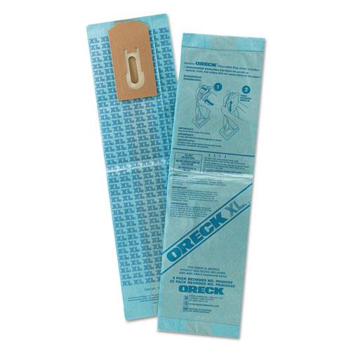 Disposable Vacuum Bags, XL Standard Filtration, 9PK/EA