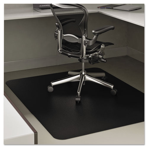 chair mats economat anytime use chair mat for hard floor 45 x 53 black