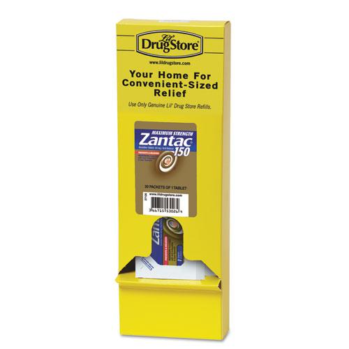 Zantac® Maximum Strength Acid Reducer, 150 mg Refill Pack, 1 Caplet/Packet, 20 Packs/Box