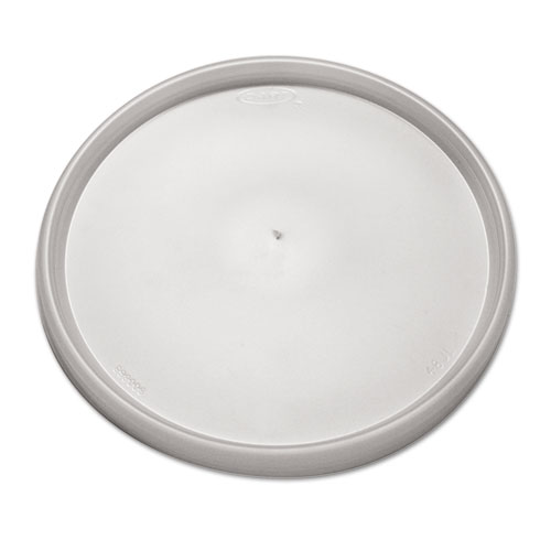 Plastic Lids, Fits 24-32oz Cups, Translucent, 500/Carton 48JL
