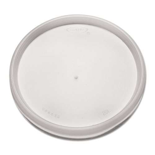 Plastic Lids, for 8, 12, 16oz Hot/Cold Foam Cups, Vented, 1000/Carton 20JL
