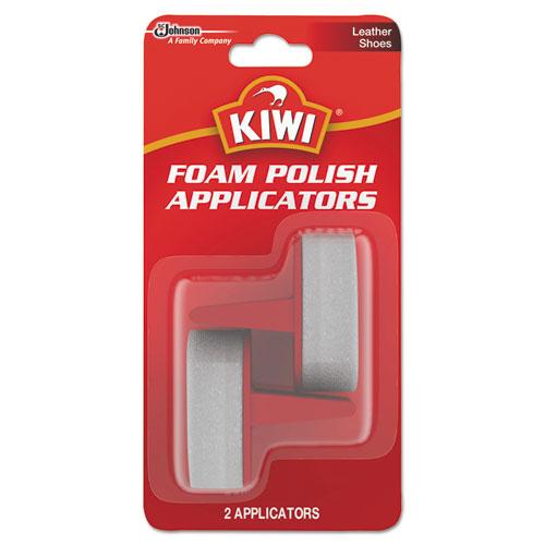 KIWI® Foam Polish Applicators, White, 12/Carton
