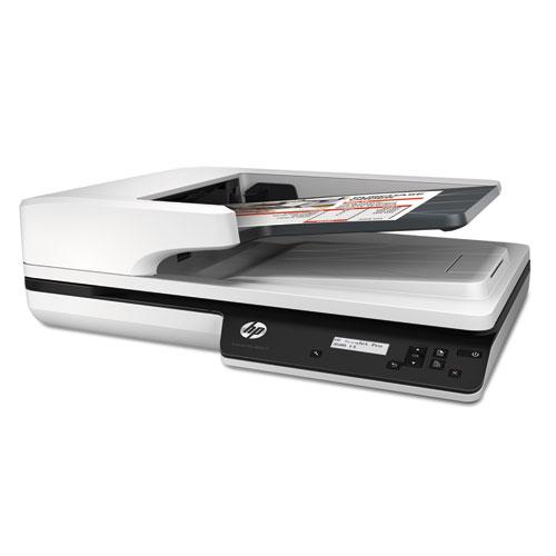 Hp Scanjet Pro 3500 F1 Flatbed Scanner 600 Dpi Optical Resolution 50 Sheet Duplex Auto Document Feeder Jacobs Paper Co