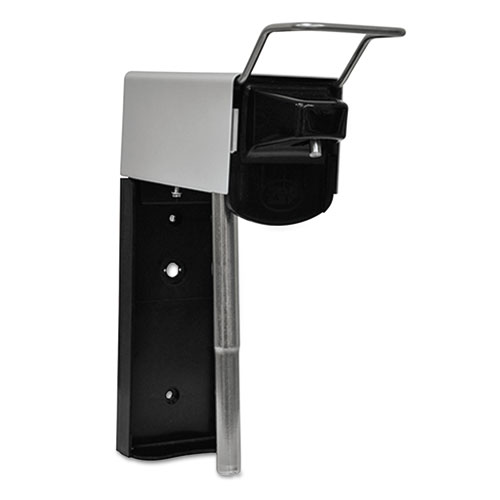 Zep Professional® Heavy Duty Hand Care Wall Mount System, Aluminum, Black-Chrome