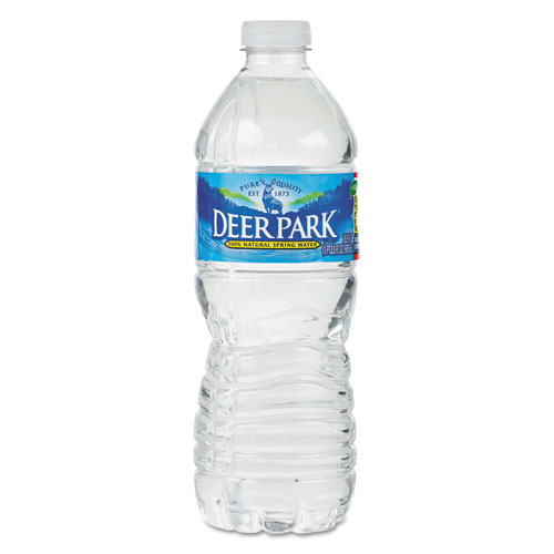 Natural Spring Water, 16.9 oz Bottle, 40 Bottles/Carton