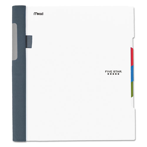 Advance Wirebound Notebook, 3 Subjects, Medium/College Rule, Assorted Color Covers, 11 x 8.5, 150 Sheets   by Plexsupply