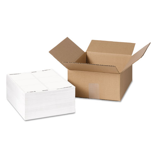 how to write a shipping label on a box