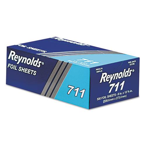 Reynolds Wrap® Pop-Up Interfolded Aluminum Foil Sheets, 9 x 10 3/4, Silver, 3000 Sheet/Carton