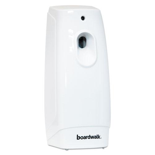 Boardwalk® Classic Metered Air Freshener Dispenser, 4w x 3d x 9 1/2h, White
