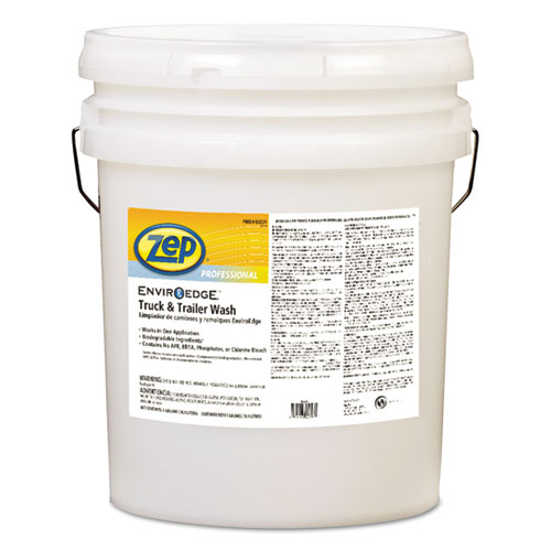 Zep Professional® EnviroEdge Truck and Trailer Wash, 5 gal Pail