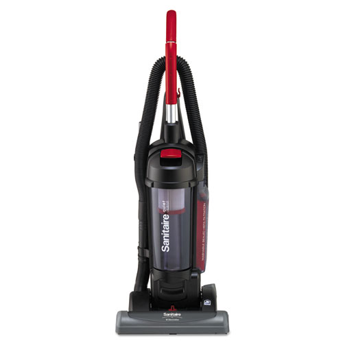 FORCE QuietClean Upright Vacuum with Dust Cup and Sealed HEPA Filtration, Black