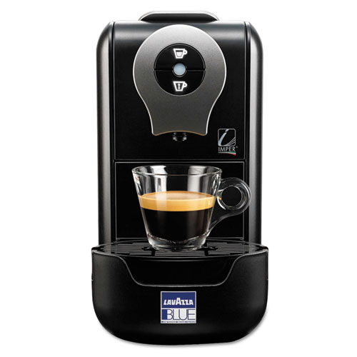 Lavazza Compact Single Cup Beverage System, 1.2 L, Black, 8 x 16 x 12