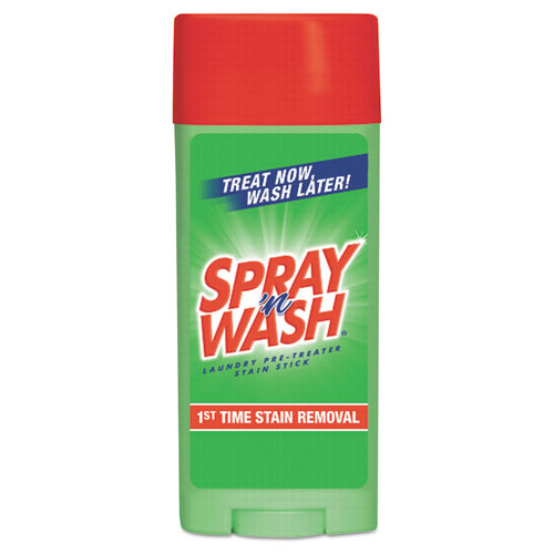 SPRAY 'n WASH® Pre-Treat Stain Stick, White, 3 oz