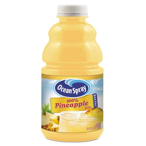 Ocean Spray® 100% Juice, Pineapple, 32 oz Bottle, 12/Carton
