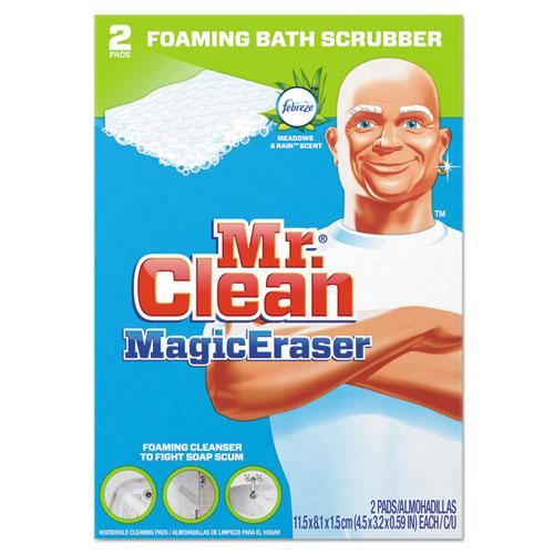 "Mr. Clean® Magic Eraser Bathroom Scrubber, 4 1/2"" X 3 1/5"", 2/Box"