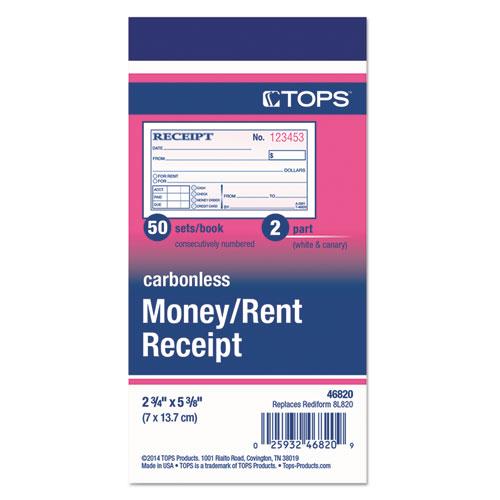 Top46820 Tops Money And Rent Receipt Books Zuma