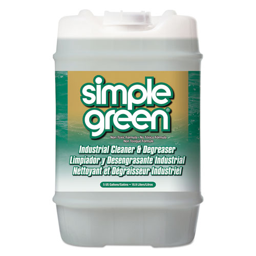 Simple Green® Industrial Cleaner & Degreaser, Concentrated, 5 gal, Pail
