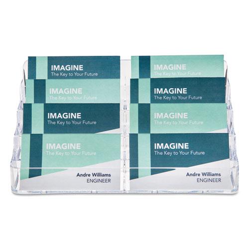 8 pocket business card holder 400 card cap 7 78 x 3 38 x 3 12 831ea quantity colourmoves