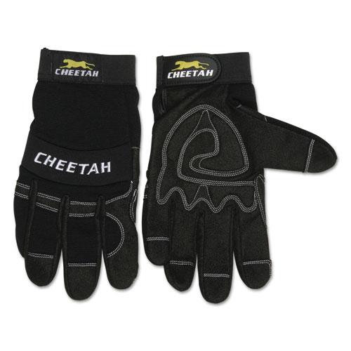 Cheetah 935CH Gloves, Large, Black