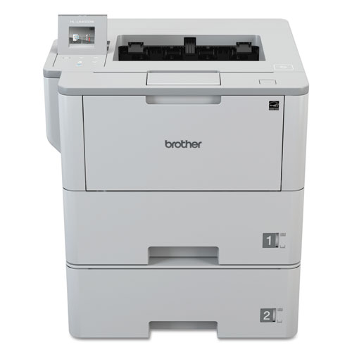 HLL6400DWT Business Laser Printer with Dual Trays for Mid-Size Workgroups with Higher Print Volumes
