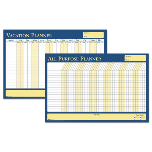 100% Recycled All-Purpose/Vacation Plan-A-Board Planning Board, 36 x 24 | by Plexsupply