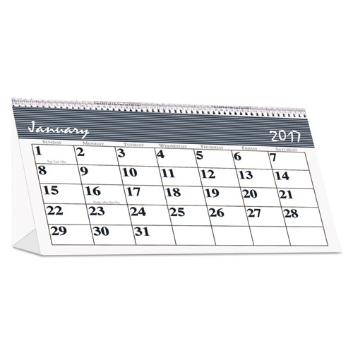 Recycled Bar Harbor Desk Tent Monthly Calendar 7 X 4 1 4